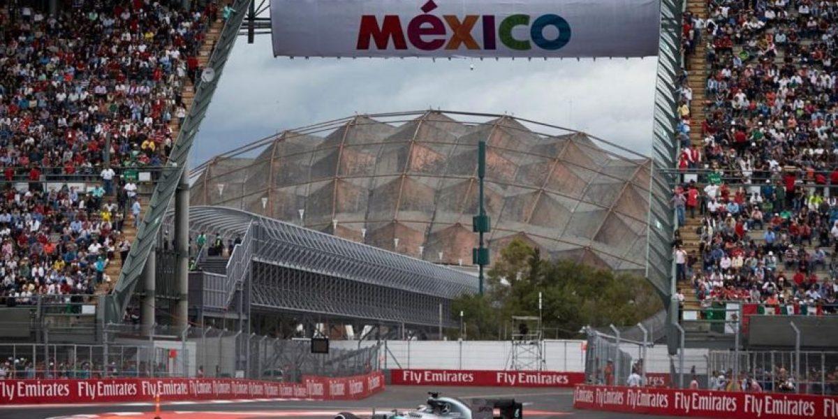 Fotos: Las espectaculares vistas del Fórmula 1 Gran Premio de México