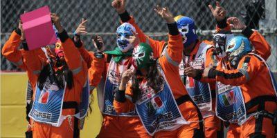 Las 15 mejores imágenes del Gran Premio de Fórmula 1 de México