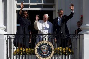Y también ofreció un discurso Foto:AFP