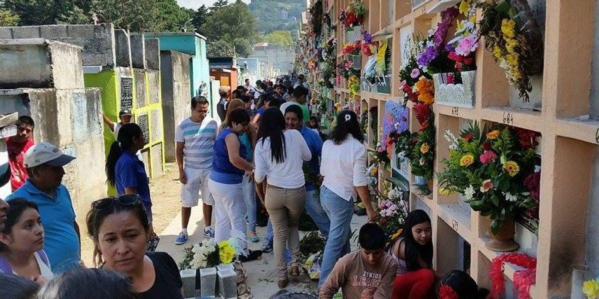 Tristeza y consternación por las víctimas de El Cambray