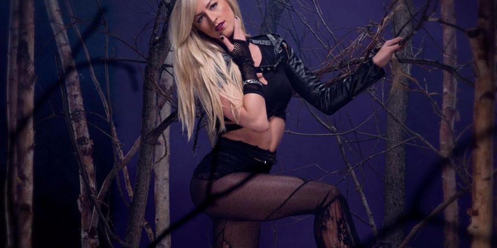 "Summer Rae como ""Undertaker"" Foto:WWE"