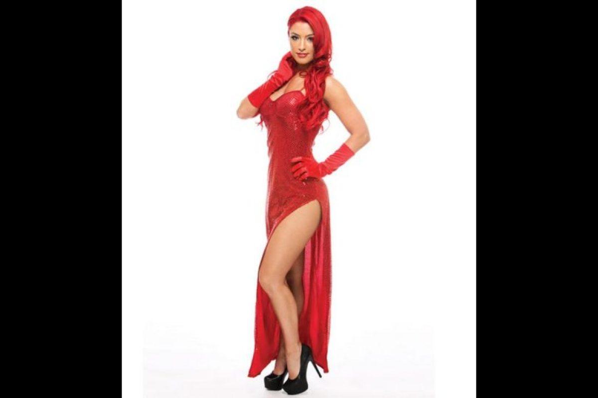 Eva Marie como Jessica Rabbit. Foto:WWE