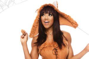 Alicia Fox como un zorro. Foto:WWE