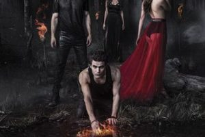"""The vampire diaries"" – Temporada 6 disponible a partir del 10 de noviembre. Foto: vía Netflix"