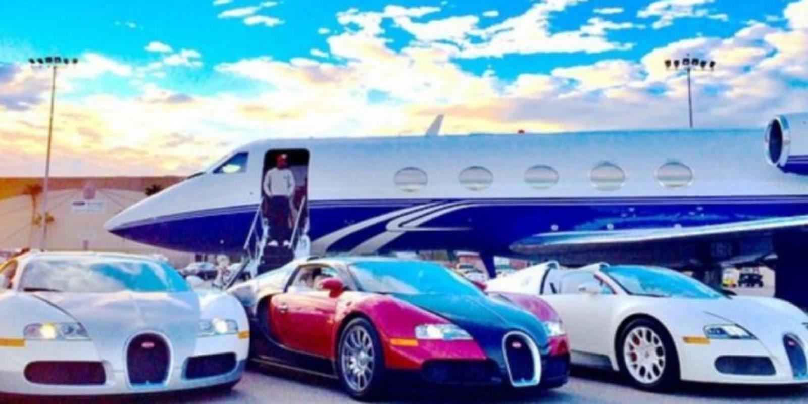 También es dueño de un jet privado. Foto:instagram.com/FloydMayweather