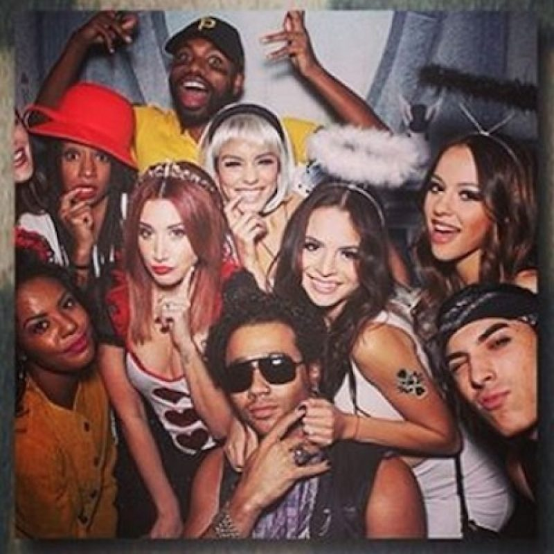 Ashley Tisdale, Vanessa Hudgens, Monique Coleman y Corbin Bleu Foto: Instagram/corbinbleu