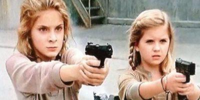 """Las hermanas huérfanas que durante la cuarta temporada quedan al cuidado momentáneo de """"Tyreese"""" y """"Carol"""" Foto:AMC"""