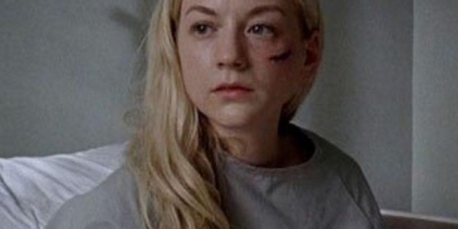 """El octavo episodio de la quinta entrega concluyó con la muerte de """"Beth"""", uno de los personajes más queridos por los fans. Foto:AMC"""