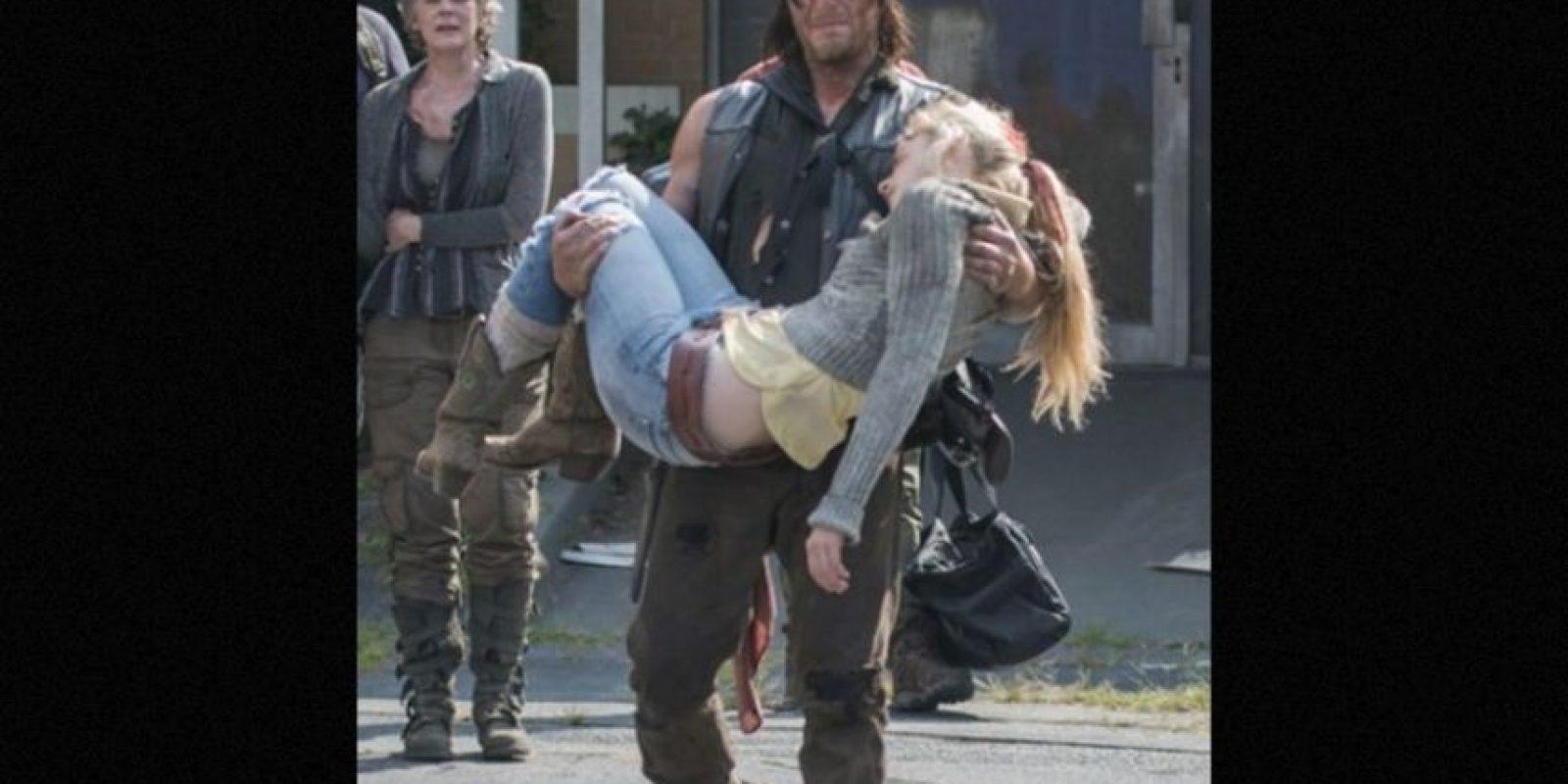 Ella murió con un disparo en la cabeza Foto:AMC