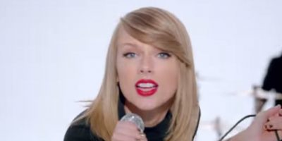 """""""Haters gonna hate, players gonna play, watch out for them fakers, they'll fake you everyday"""". Foto:YouTube/taylorswiftVEVO"""