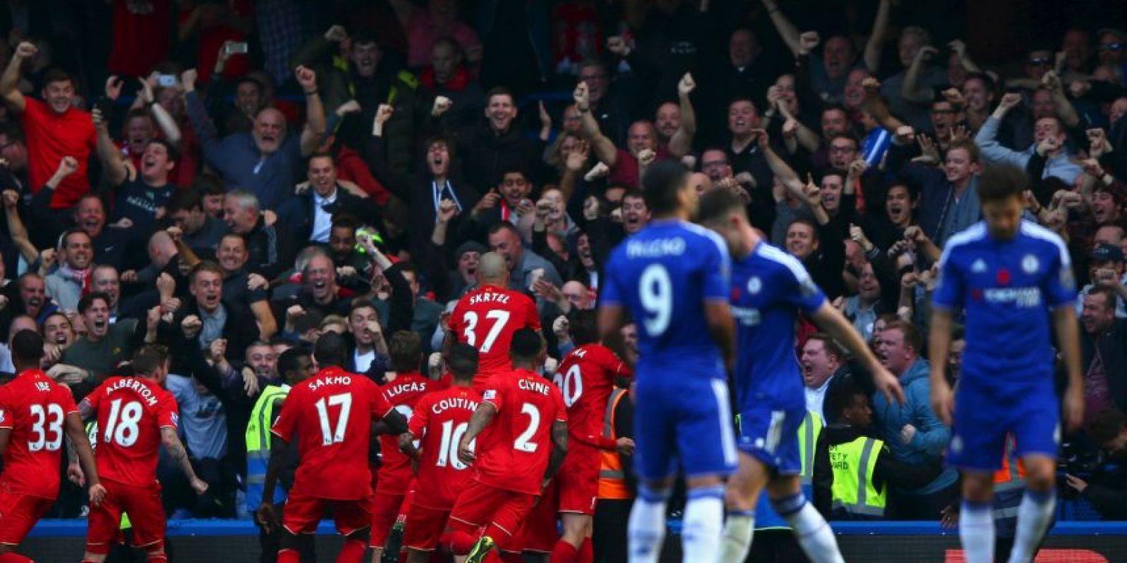 """Los """"Reds"""" superaron 3-1 a los pupilos de """"Mou"""" Foto:Getty Images"""