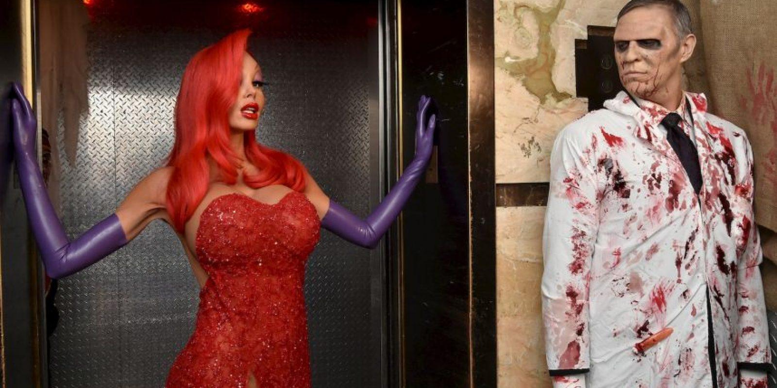 """""""Jessica Rabbit"""" de la película """"¿Quién engañó a Roger Rabbit?"""" Foto:Getty Images"""