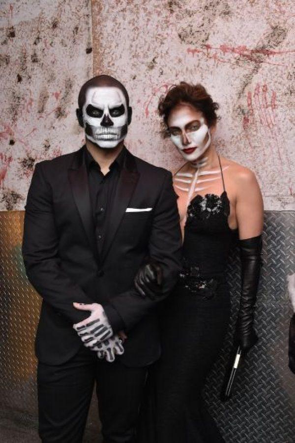 Casper Smart y Jennifer López Foto:Getty Images
