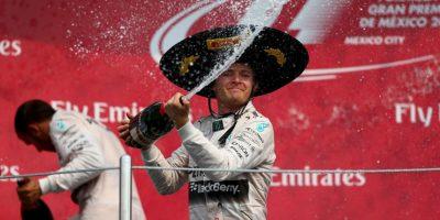 Nico Rosberg conquistó el Gran Premio de México de la F1 Foto:Getty Images