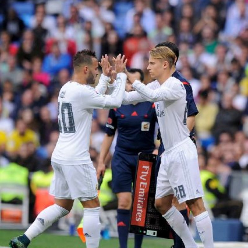 Real Madrid le pasó por encima 3-1 a Las Palmas Foto:Getty Images