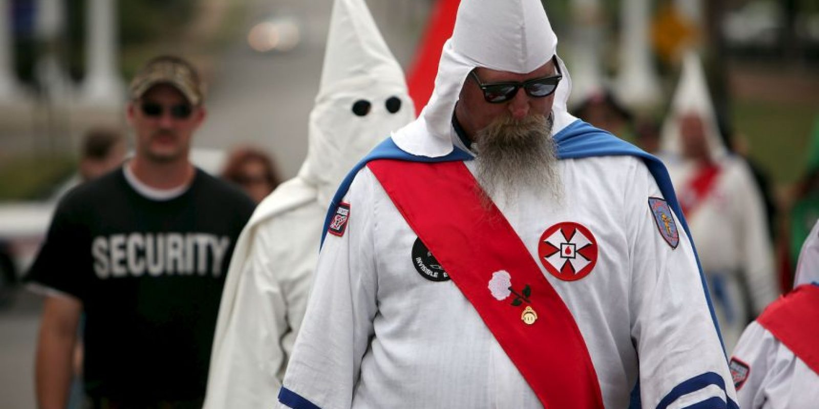 El KKK moderno ha sido repudiado por los medios de comunicación, líderes políticos y religiosos de los Estados Unidos. Foto:Getty Images