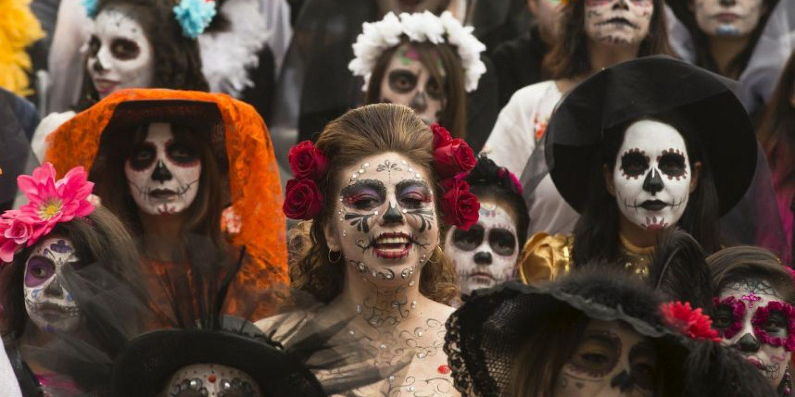Día de muertos en México Foto:AP