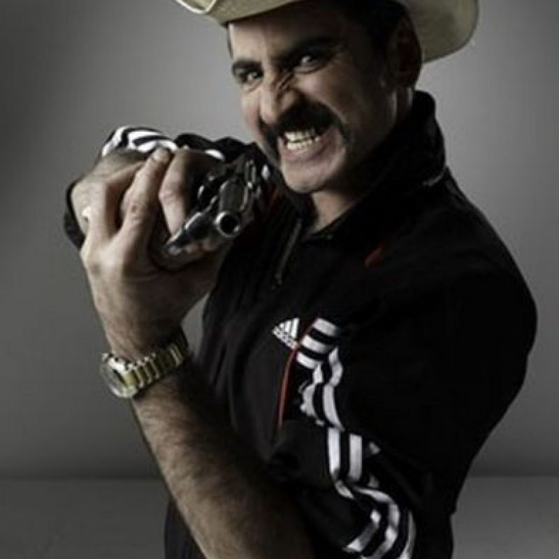 El capo era Wílber Varela, interpretado por Robinson Díaz Foto:Telemundo