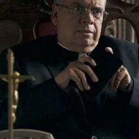 Cardenal Pastrana era Cardenal Jesús Posadas Ocampo, Emilio Guerrero hizo este papel Foto:Telemundo