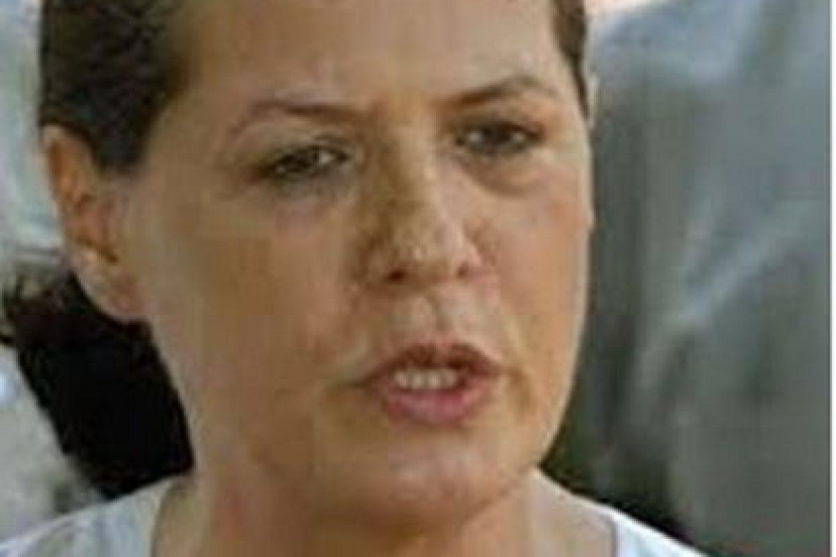 Fue la primera esposa de Amado Carrillo, desde 2005 tiene una orden de aprehensión en su contra por presuntas operaciones de procedencia ilícita, derivada del llamado maxiproceso emprendido en el sexenio de Ernesto Zedillo contra el Cártel de Juárez Foto:Pinterest
