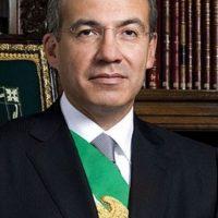 Político mexicano del Partido de Acción Nacional (PAN), presidente de México entre 2006 y 2012 Foto:Pinterest