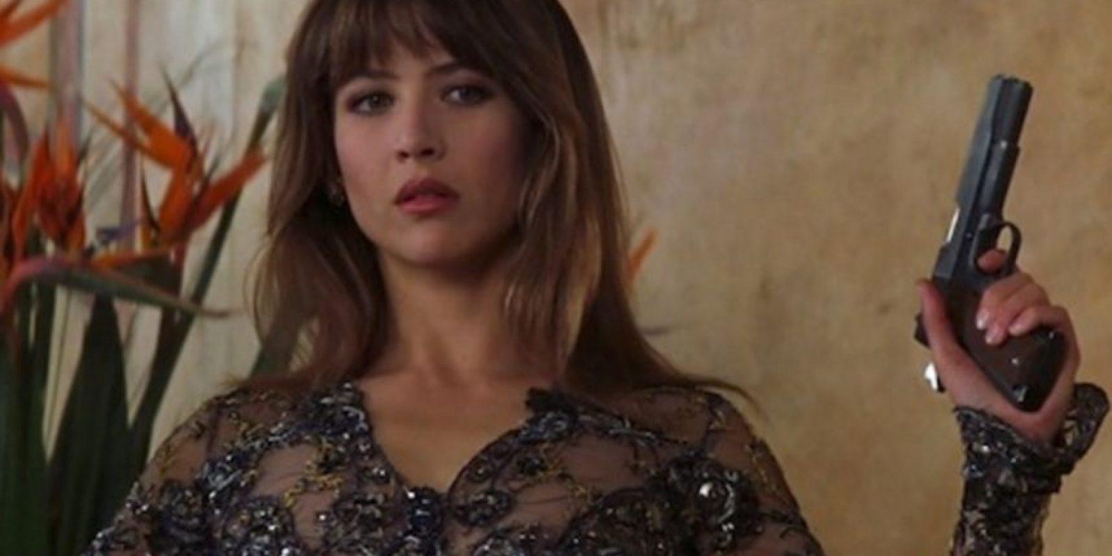 """Sophie Merceau fue escogida también como chica Bond para """"The World is not enough"""". Tuvo un romance con 007 (Brosnan), pero resultó ser una 'femme fatale' y el agente secreto termina asesinándola. Foto:Vía imdb.com"""