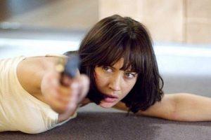 """Olga Kurylenko es ucraniana. La actriz fue Camille, la chica Bond de la cinta """"Quantum of Solace"""" Foto:Vía imdb.com"""