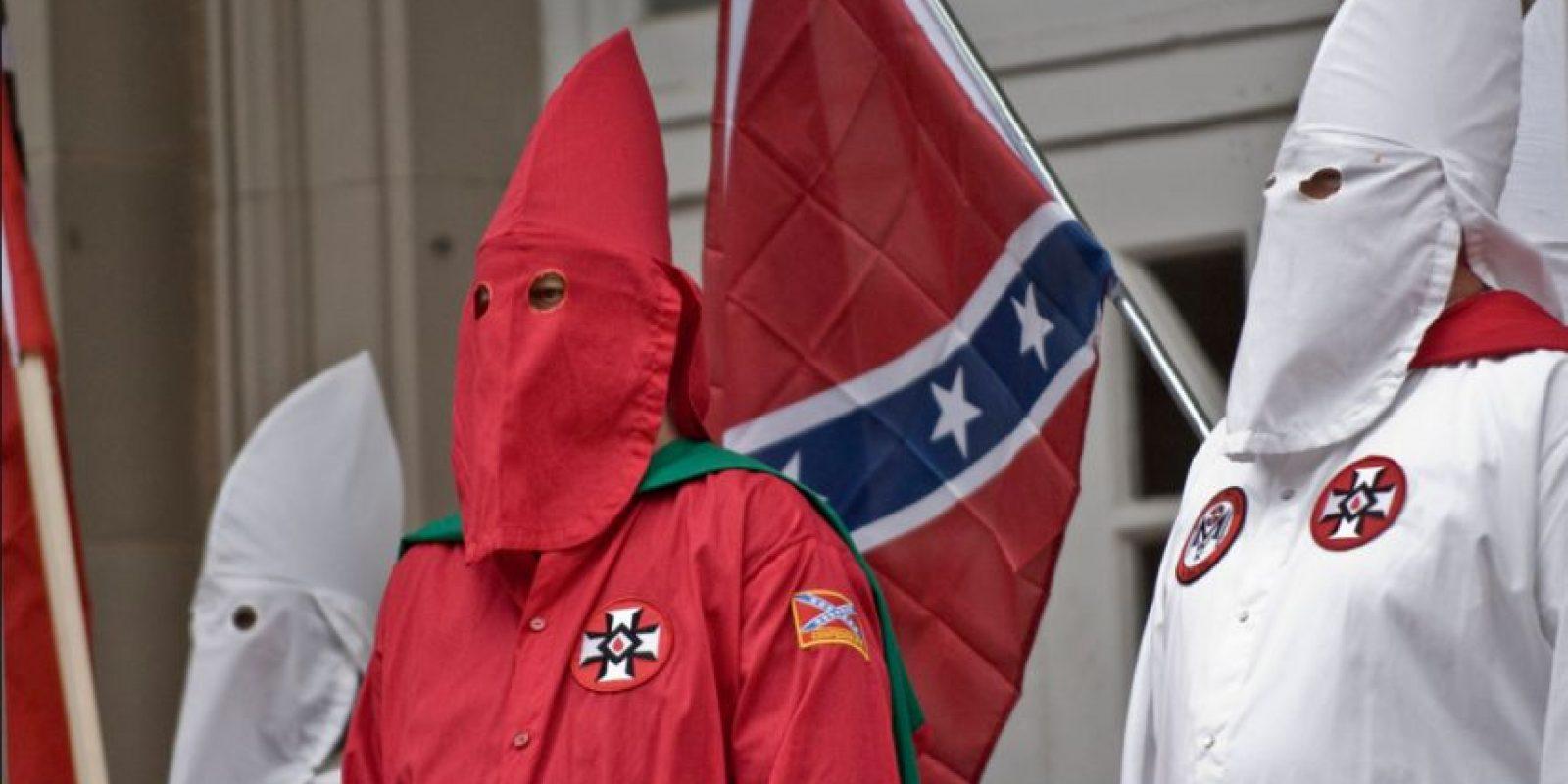 Ku Klux Klan es una organización que promueve principalmente la xenofobia, así como la supremacía de la raza blanca, homofobia, el antisemitismo y el racismo. Foto:Vía Flickr.com