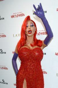 """Este año, la modelo se conviritió en """"Jessica Rabbit"""" Foto:Grosby Group"""
