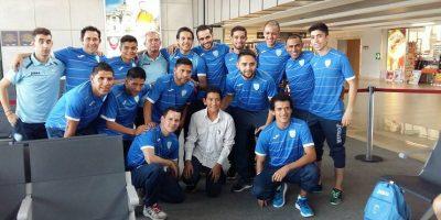 Selección de Futsal ya prepara su debut ante Paraguay en Brasil