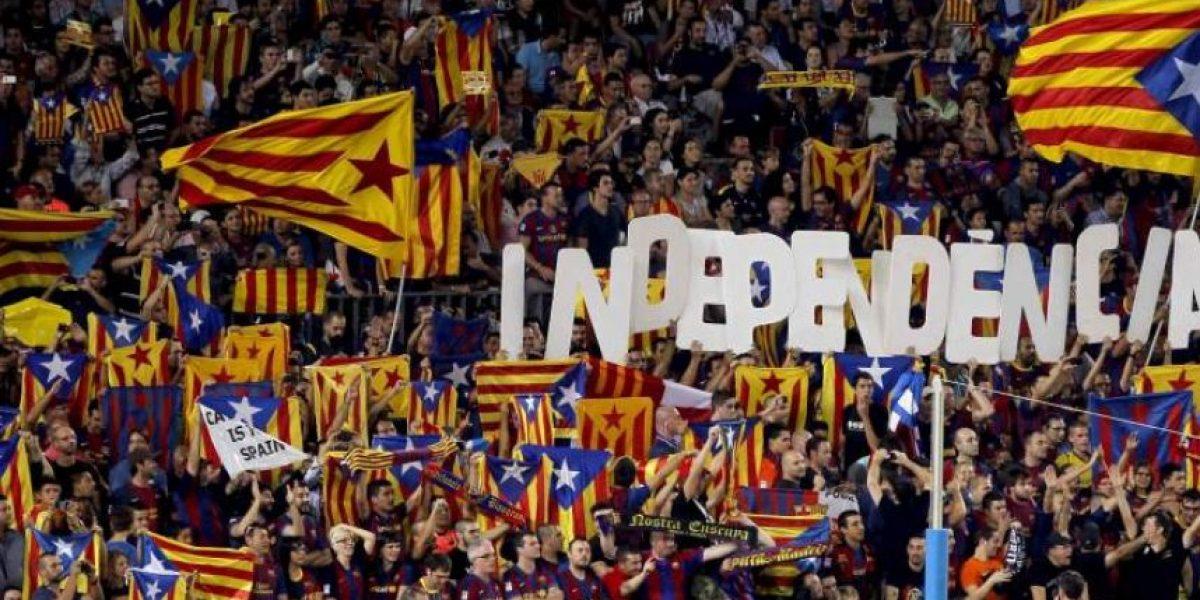 La UEFA sanciona a la afición catalana y esta mostrará su rebeldía en el juego del Barcelona