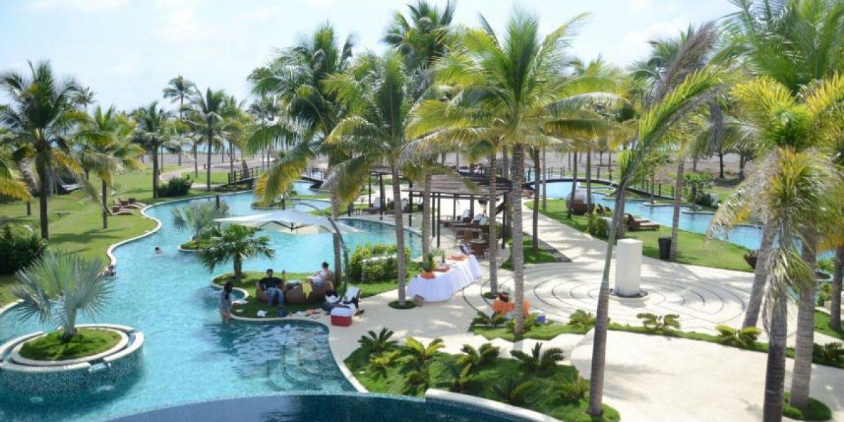 Así luce la piscina más grande de Centroamérica ubicada en Guatemala