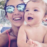 Ahora es madre de un pequeño de un año. Foto:vía twitter.com/vanesaleiro