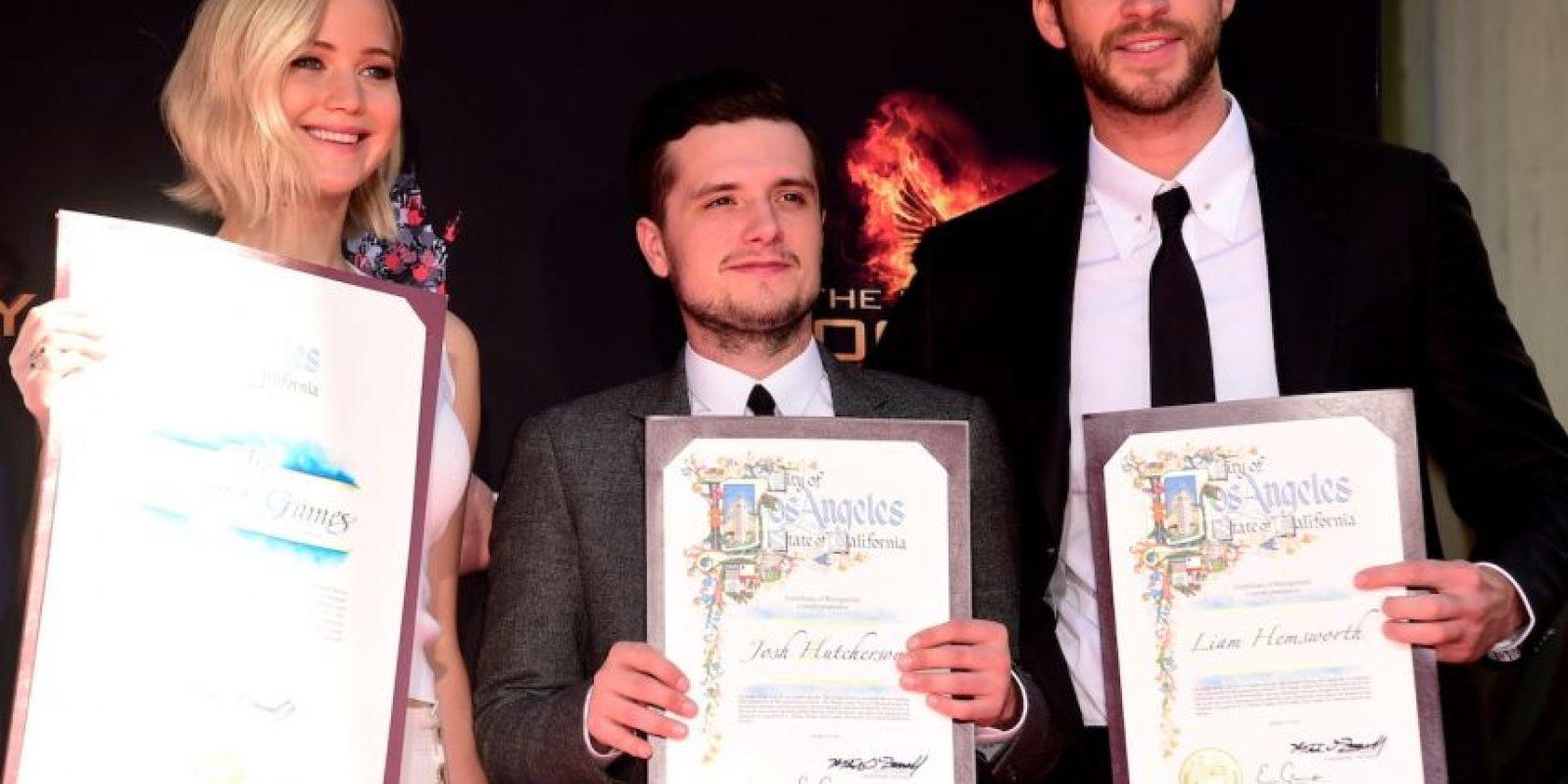 Desde 2012 hasta el próximo noviembre, estos actores le dieron vida a tres de los personas más populares de esta saga. Foto:Getty Images
