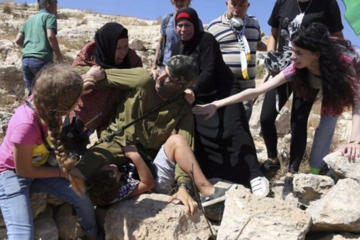 Sucedió en Palestina. Foto:AFP