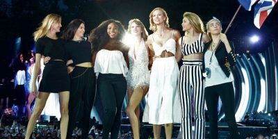 Serena Williams, Karlie Kloss, Cara Delevingne, Martha Hunt, Gigi Hadid y Kendall Jenner Foto: Getty Images