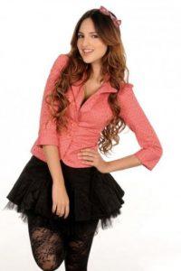 """La actriz interpretó a """"Clara Molina"""", una joven que sueña con ser una famosa cantante. Foto:Televisa"""