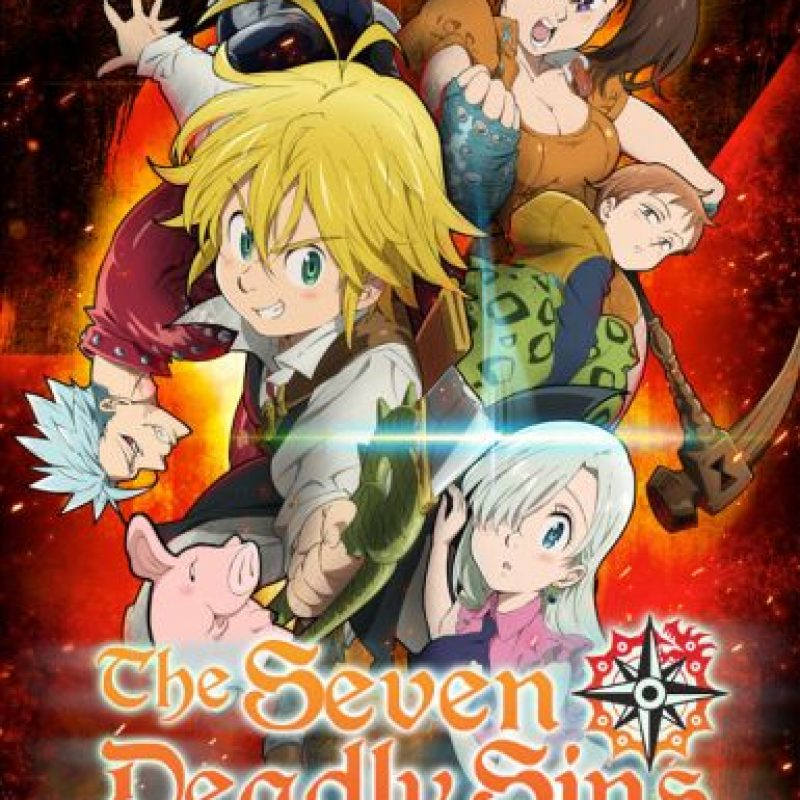 """The seven deadly sins"" – Temporada 1 ya disponible. Foto: vía Netflix"