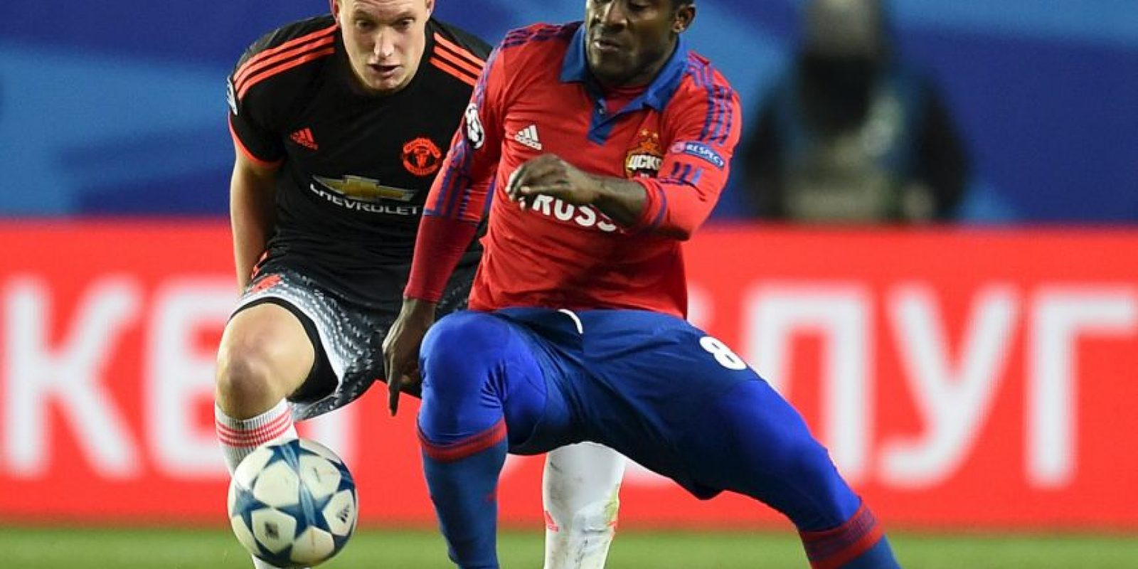 Manchester United vs. CSKA Moscú Foto: Getty Images