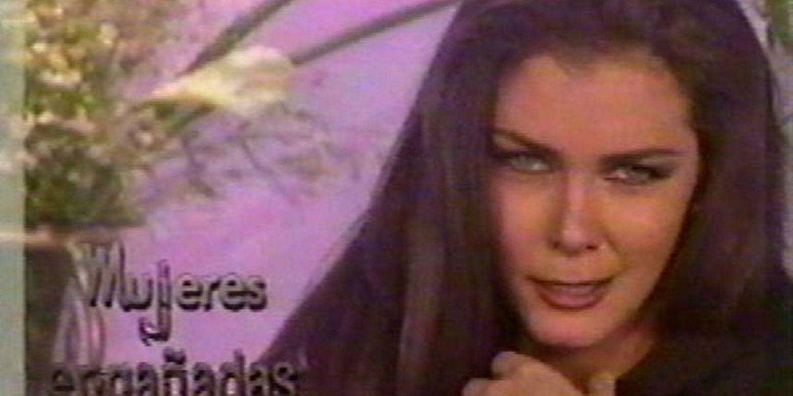 Ella era una esposa infiel y manipuladora. Foto:vía Televisa