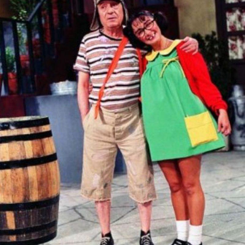 También tuvo problemas legales con Chespirito por interpretar al personaje. Foto:vía Televisa