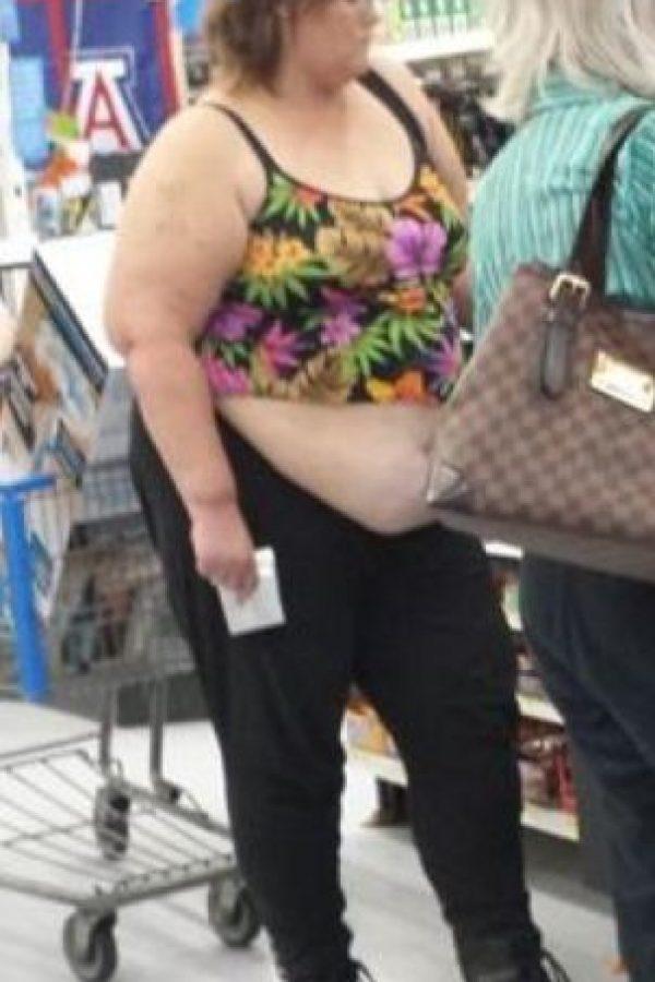 Pero en general una it girl de talla grande siempre usa ropa hecha para sus medidas. Foto:vía FashionFail.com