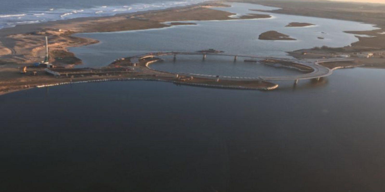 Se cree que esta construcción afectará el ecosistema de la Laguna Garzón esto debido a que se estima que por el puente pasarán unos mil vehículos por día. Foto:Vía rvapc.com/blog
