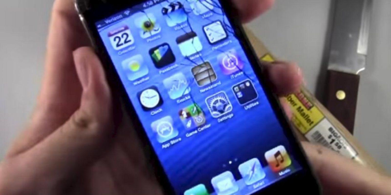iPhone 5 Foto:PhoneBuff / YouTube