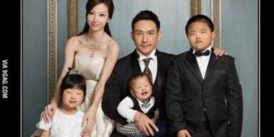 Supuestamente, un marido chino demandó a su mujer porque sus hijos salieron feos. Foto:vía Tumblr