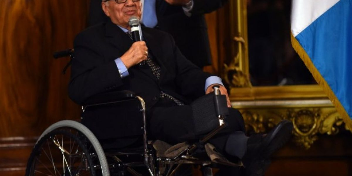 Así quiere ser recordado el presidente Alejandro Maldonado