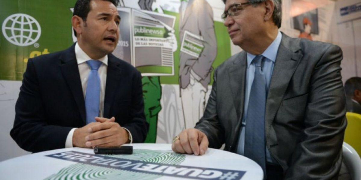 Jimmy Morales les pide a la CICIG y al MP que certifiquen a los futuros funcionarios