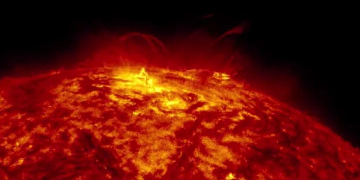 La NASA vuelve a sorprender con otro video en alta resolución, ahora del Sol