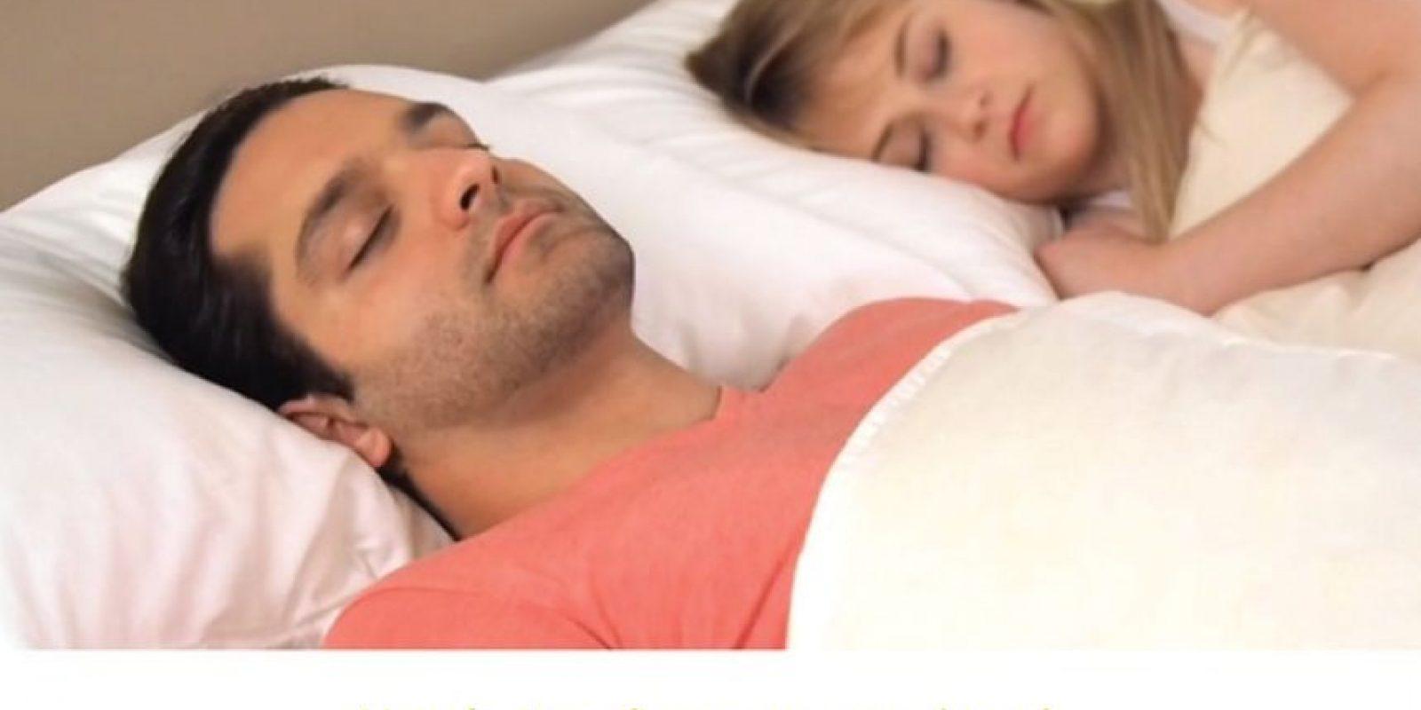 Ni dormir en posiciones específicas. Foto: Smart Nora Inc.