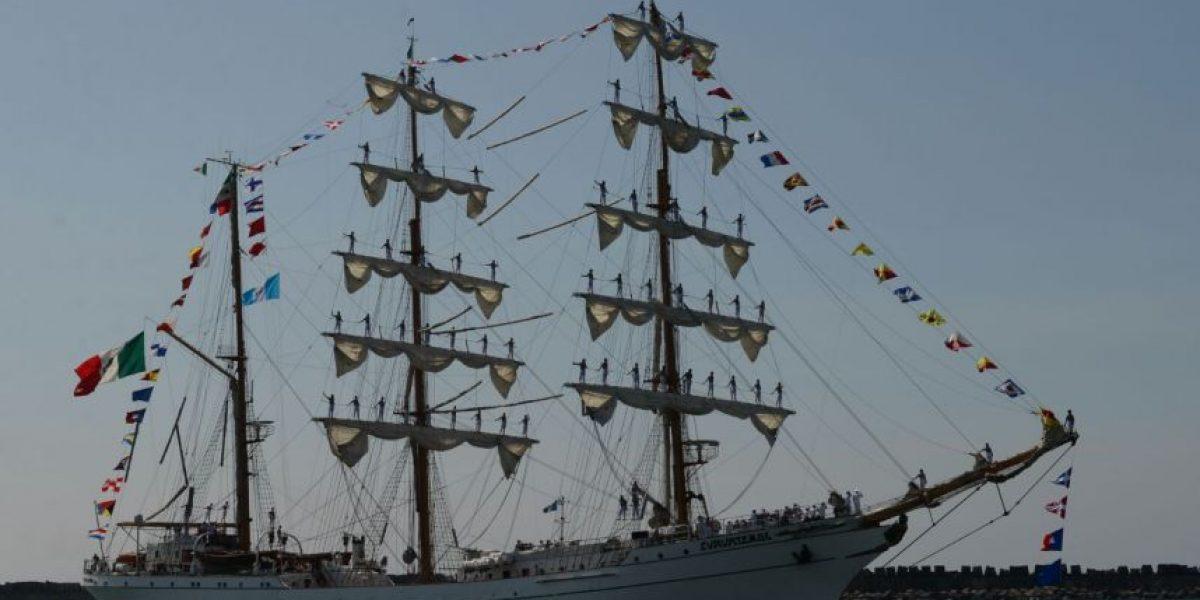 EN IMÁGENES. Una mirada desde el interior del buque mexicano Cuachtémoc
